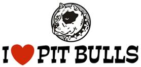 I love Pit bulls t-shirts