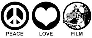 Peace Love Film t-shirt