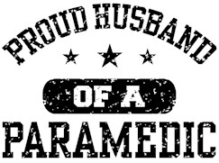 Proud Husband of a Paramedic t-shirt