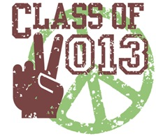 Class of 2013 Peace t-shirt