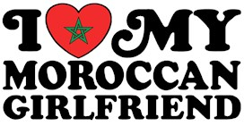 I Love My Moroccan Girlfriend t-shirts