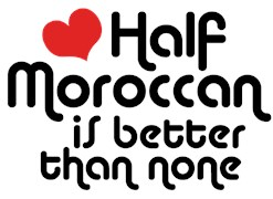 Half Moroccanan t-shirts