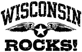 Wisconsin Rocks t-shirts