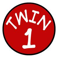 Twin 1 t-shirts