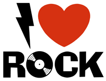 I Love Rock t-shirt