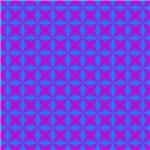 Blue Purple Diamonds