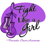 Fight Like a Girl Pancreatic Cancer Shirts