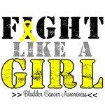 Fight Like a Girl Distressed Shirts