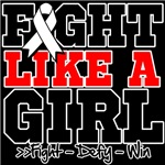 Retinoblastoma Sporty Fight Like a Girl Shirts