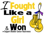I Fought Like a Girl Bladder Cancer Shirts
