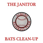 The Janitor Bats Clean-Up