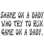 shame on a baby