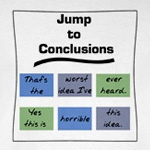 Jump to Conclusions Mat