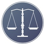Scales of Justice (Navy Blue)
