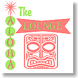 The Aloha Lounge | Atomic Age Tiki Chic T-shirts & Gifts