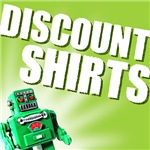 ON SALE - Robot Face Discount T-Shirts