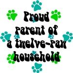 Twelve-paw household