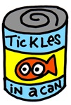 Tickles Goldfish in a can