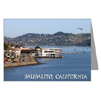 Sausalito California Greeting Cards
