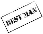 Best Man Stamp