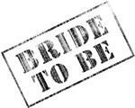 Bride To Be Stamp