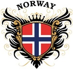 Norwegian Flag T-shirts & Gifts