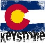 Keystone Grunge Flag