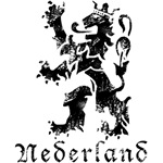 Netherlands - Lion - Black