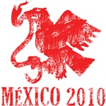 Mexico - Eagle - Red