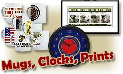 Mugs, Clocks & Prints