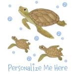 Personalized Sea Animals