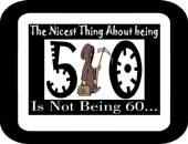 Being 50 | Memorable Gifts & Apparel