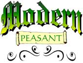 Modern Peasant | Wonderful, Witty, Whatever...