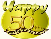 50th Birthday | Gifts & Apparel