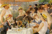 Renoir Boating Party Landscape Prints