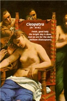 Death of Cleopatra Queen of Egypt