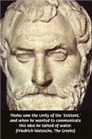 Greek Science / Philosophy: Thales of Miletus