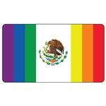 Mexico Gay Pride Flag