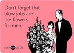 Blow Jobs Flowers