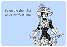 Short List Valentine