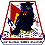494th Tactical Fighter Squadron 'Panthers'