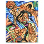 Anatomy Art Drawing #P0200