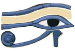 KING TUT HORUS EYE