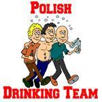 Polish Drinking Team Cartoon Shirt