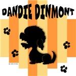 Dandie Dinmont Terrier Yellow/Orange Stripe