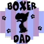 Boxer Dad Blue/Purple Stripe