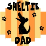 Sheltie Dad - Yellow/Orange Stripe