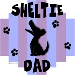Sheltie Dad - Blue/Purple Stripe