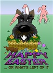 Scottish Terrier - Happy Easter