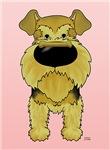 Airedale Terrier Valentine